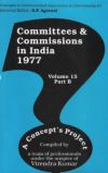 Committees and Commissions in India 1977 (Volume-15 Part B)